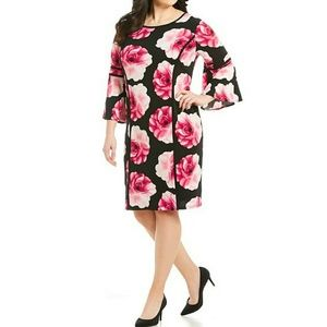 🔥🆕➕ Calvin Klein 💜 Floral Dress
